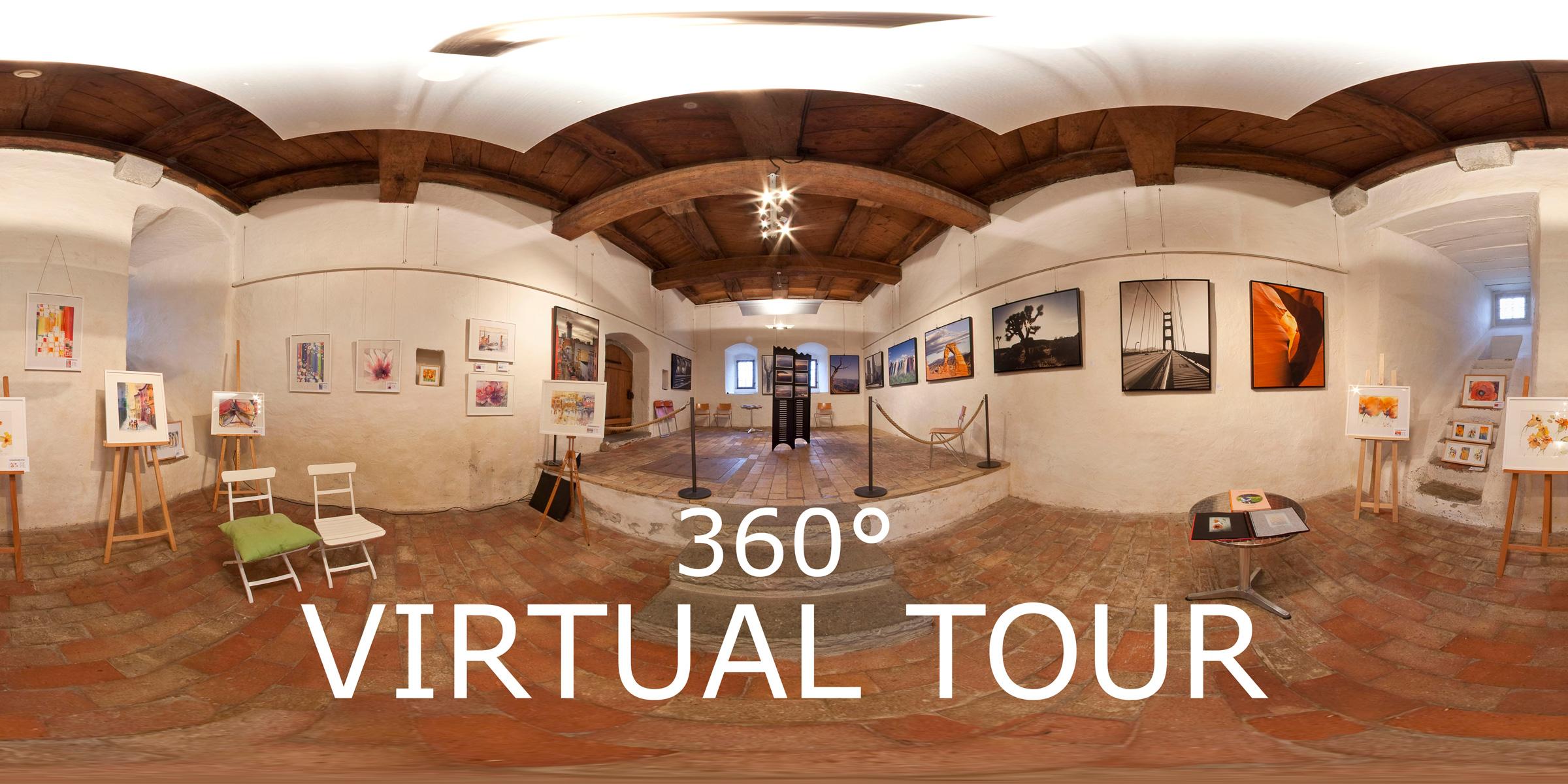 360° Virtuelle Tour durch die Ausstellung - Vogelsperspektiven 2010 - Greifensee