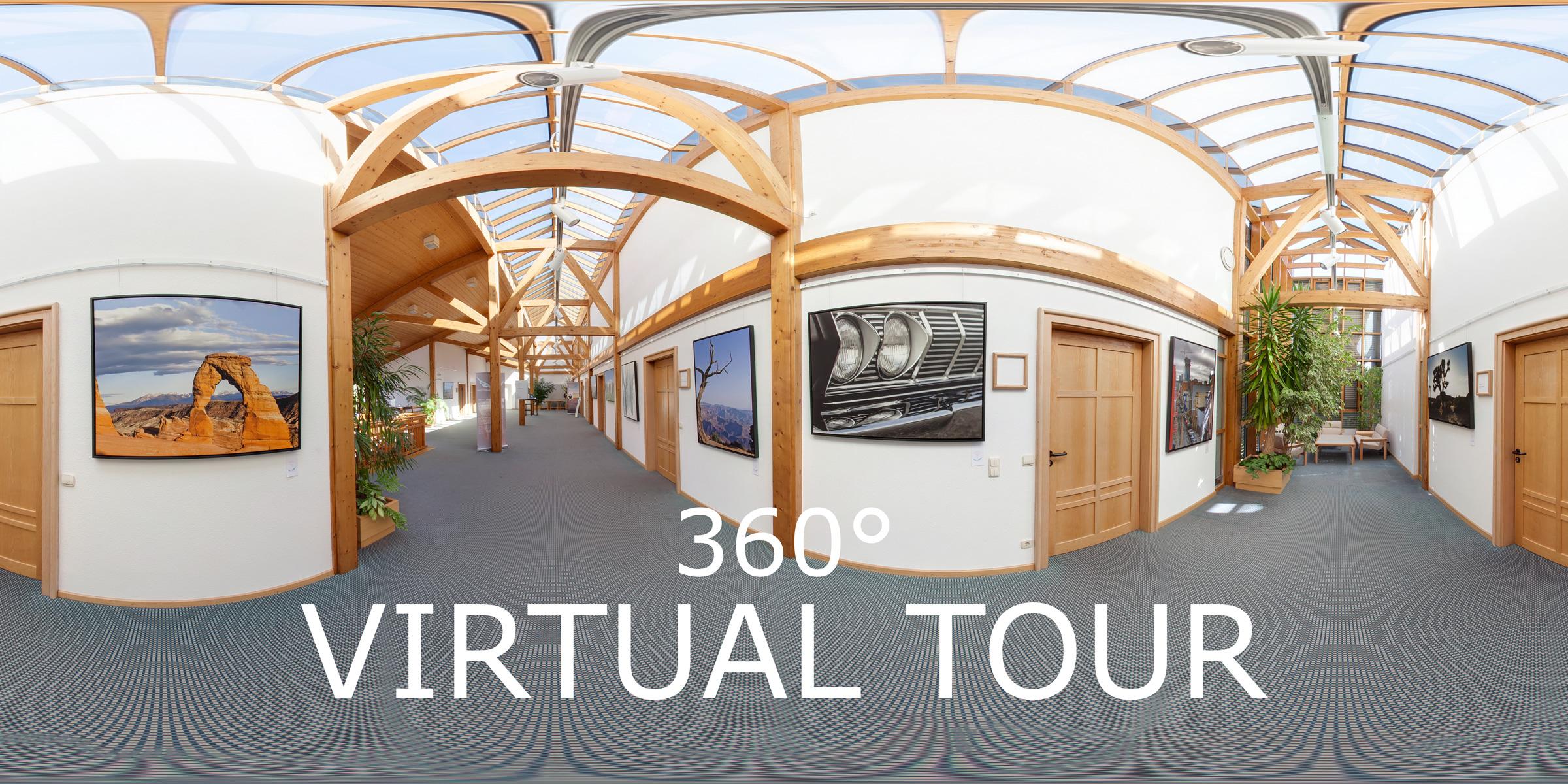 360° Virtuelle Tour durch die Ausstellung - Vogelsperspektiven 2012